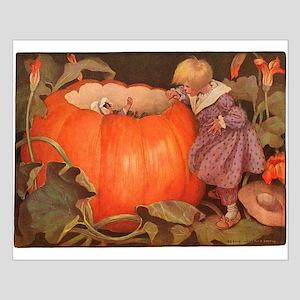 Peter Peter Pumpkin Eater Small Poster