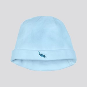 Narwhal Baby Hat