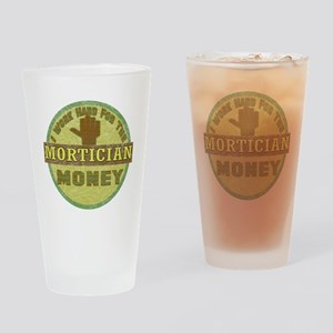 Mortician Drinking Glass