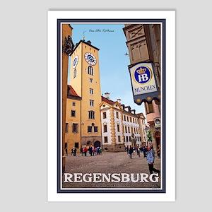 Regensburg Old Rathaus Postcards (Package of 8)