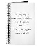 Make a Mistake Journal