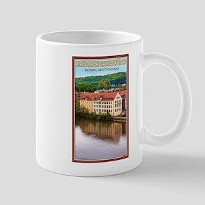 Regensburg Danube River Mug