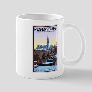 Regensburg Winter Eve Mug