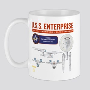Starship Enterprise Mug