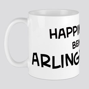 Happiness is Arlington Mug