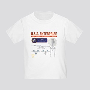 Starship Enterprise Toddler T-Shirt