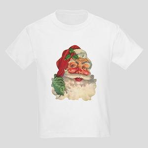 Santa Face Kids Light T-Shirt