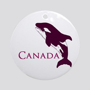 Whale Song Ornament (Round)