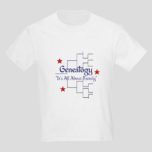 Genealogy Chart Kids Light T-Shirt