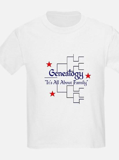 Genealogy Chart T-Shirt