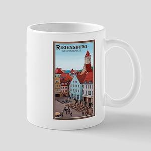 Regensburg Neupfarrplatz Mug
