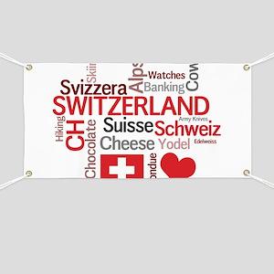 Switzerland - Favorite Swiss Things Banner