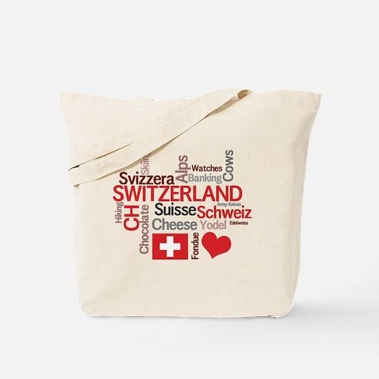 Switzerland - Favorite Swiss Things Tote Bag