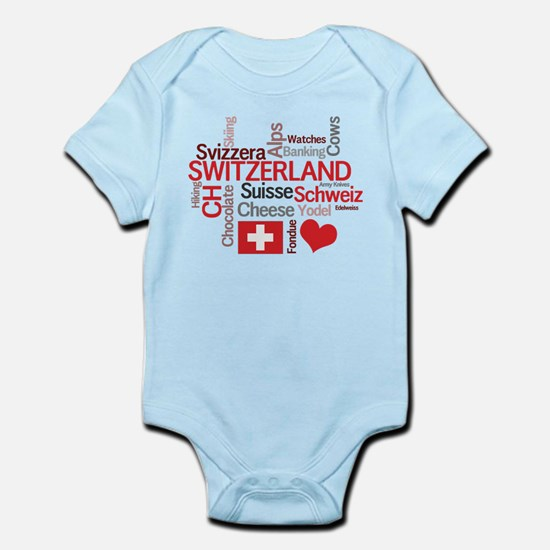 Switzerland - Favorite Swiss Things Infant Bodysui