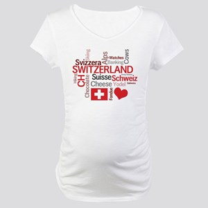 Switzerland - Favorite Swiss Things Maternity T-Sh