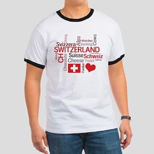 Switzerland - Favorite Swiss Things Ringer T