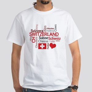 Switzerland - Favorite Swiss Things White T-Shirt