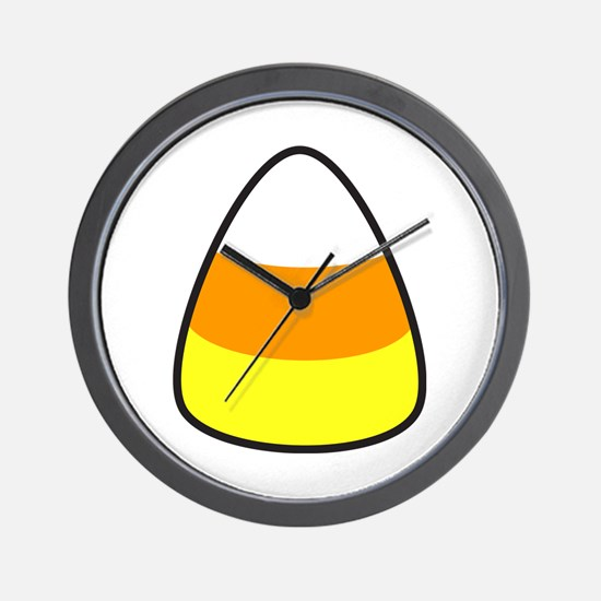 Candy Corn Wall Clock