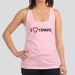 I Love Tennis Tank Top