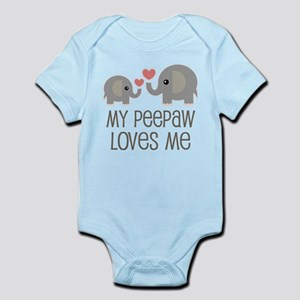 My Peepaw Loves Me Body Suit