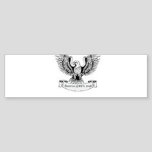 America! Sticker (Bumper)