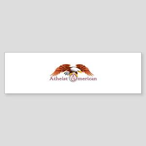 American Atheist Sticker (Bumper 10 pk)