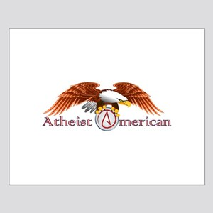 American Atheist Small Poster