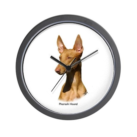 Pharaoh Hound 9P003D-60 Wall Clock