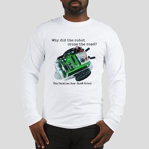 Robot front Long Sleeve T-Shirt