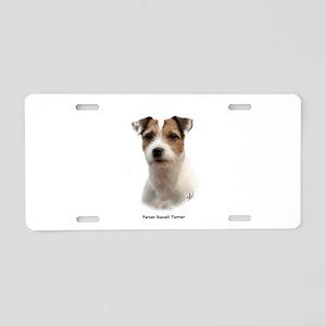 Parson Russell Terrier 9Y081D-014 Aluminum License