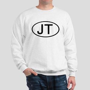JT - Initial Oval Sweatshirt
