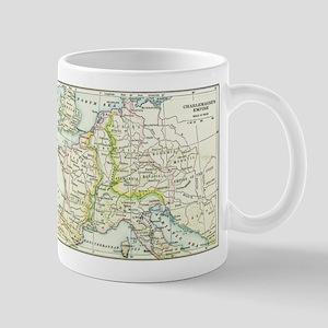 Charlemagne's Empire Map Mug