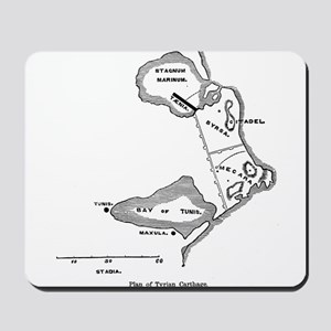 Tyrian Carthage Plan Mousepad