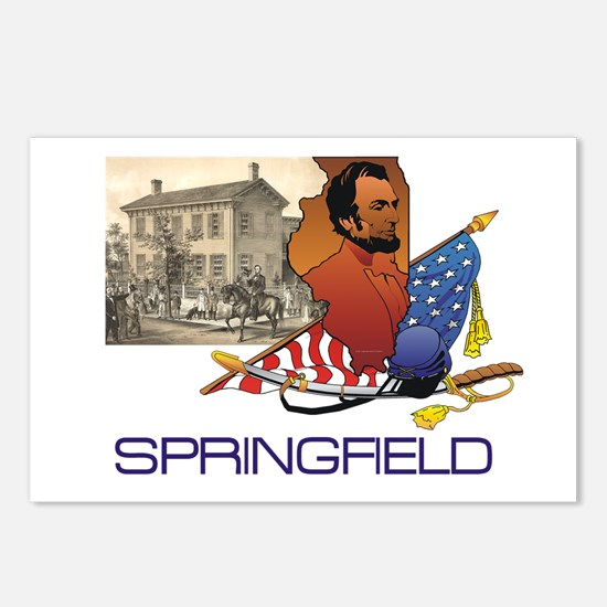 ABH Springfield Postcards (Package of 8)