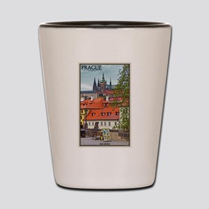 Prague Castle Shot Glass