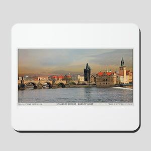 Charles Bridge Panorama Mousepad