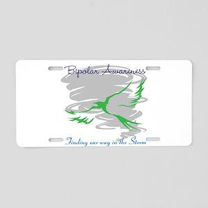 The Storm Aluminum License Plate
