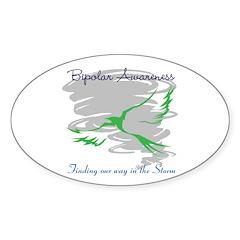 The Storm Sticker (Oval 10 pk)