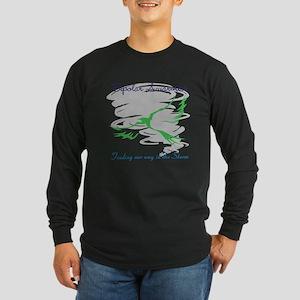 The Storm Long Sleeve Dark T-Shirt