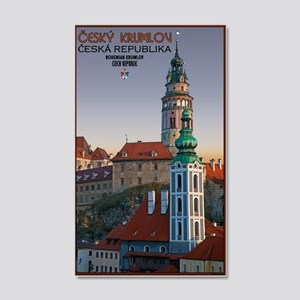 Cesky Krumlov Towers 22x14 Wall Peel