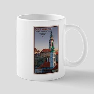 Cesky Krumlov Towers Mug