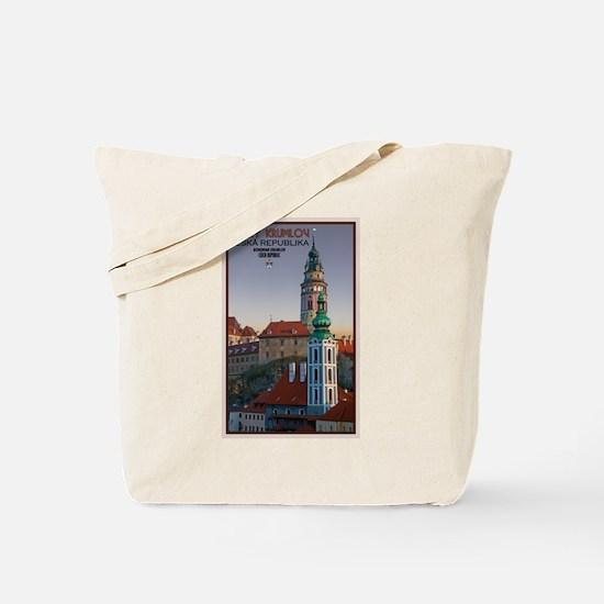Cesky Krumlov Towers Tote Bag