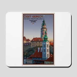 Cesky Krumlov Towers Mousepad