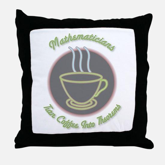 Mathematicians Throw Pillow