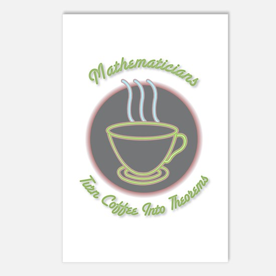 Mathematicians Postcards (Package of 8)