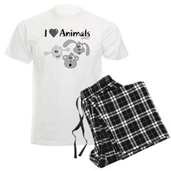 I Love Animals - pajamas