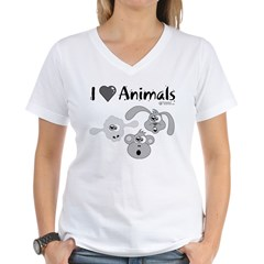 I Love Animals - Shirt