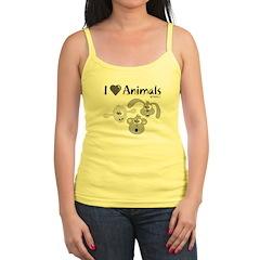 I Love Animals - Tank Top