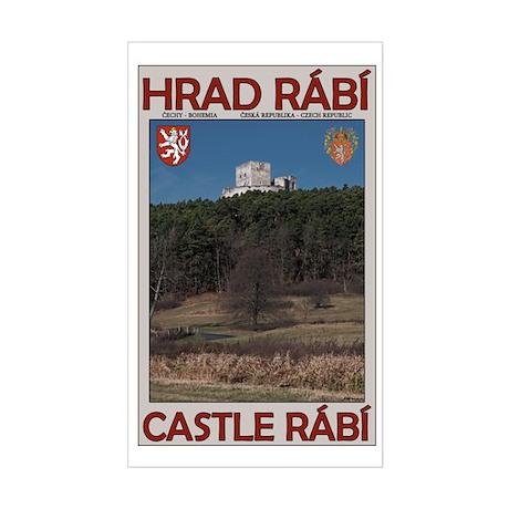 Castle Rabi Sticker (Rectangle)