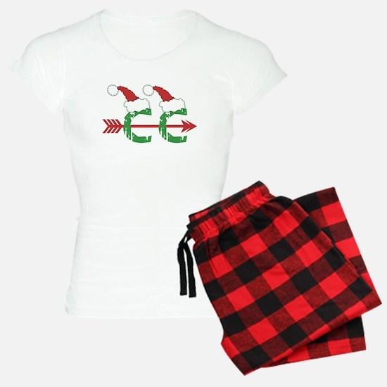 Cross Country Christmas Pajamas